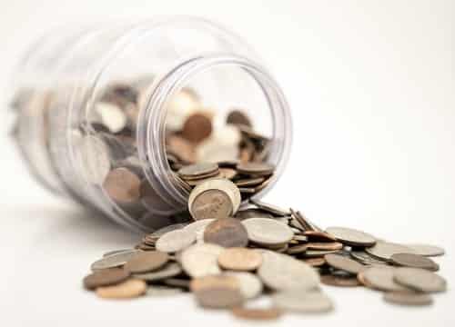 Geld in een pot