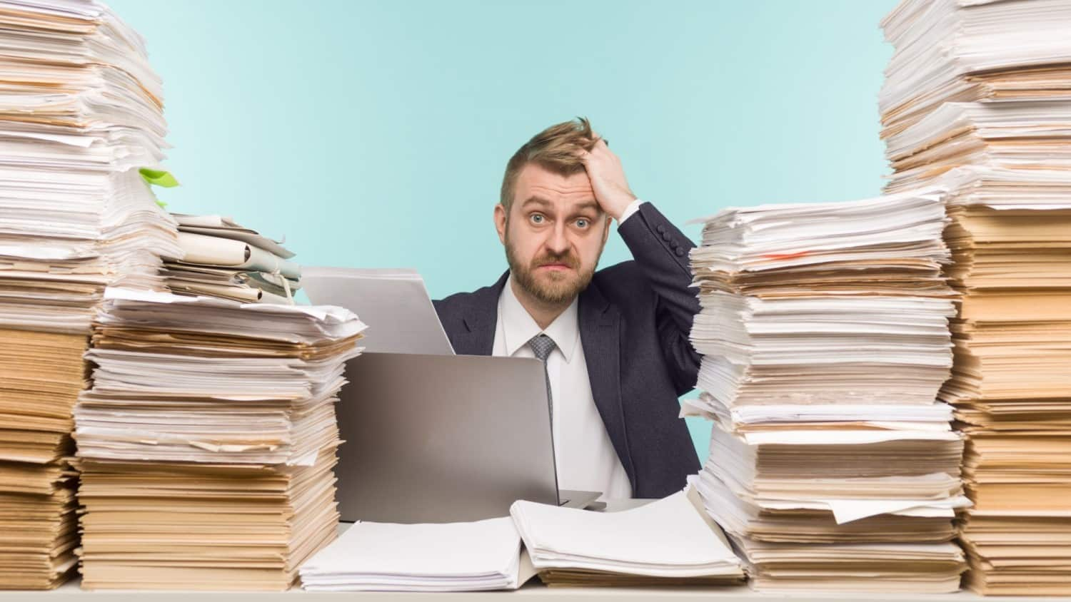 Hire a bookkeeper to take care of your administration